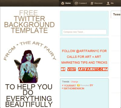 Twitter Template Download For Word by Free Twitter Background Design Template For Photoshop