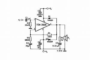 Electronics Tricks And Tips  Tda 2006 Colour Tv Audio Ic