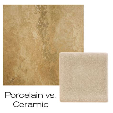 difference between porcelain and ceramic united tile design resources tile faq