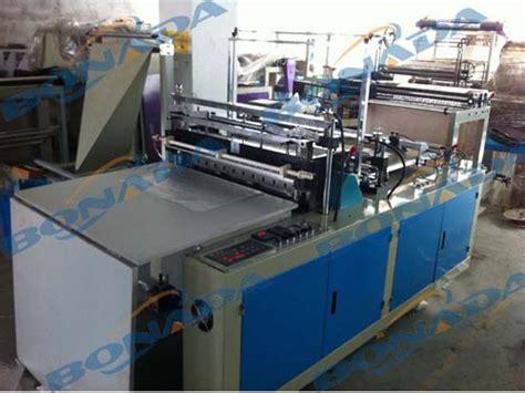 bag making machine shxj  computer heat sealing cold cutting bag making machinesingle