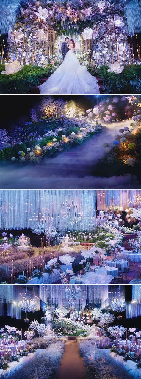 breathtaking fairy tale inspired indoor wedding decor