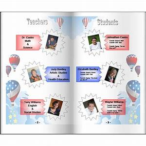 make your own homeschool yearbook ideas for planning With powerpoint yearbook template