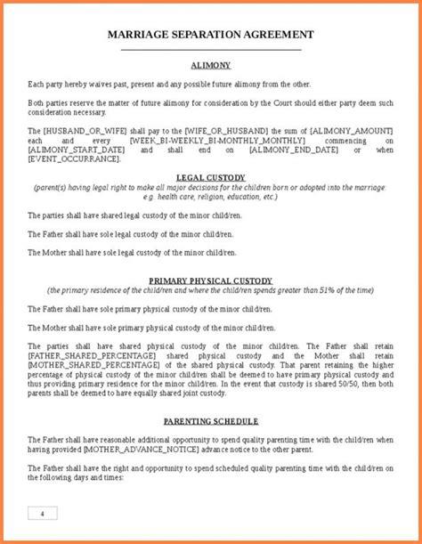 virginia separation agreement template virginia separation agreement template shatterlion info