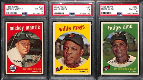 Learn more about the different types of grading services and the benefits of psa grading. Lot Detail - 1959 High-Grade Baseball Card Near Complete Set - Missing 5 Cards - w. Mantle PSA 4