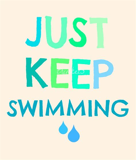 Image result for Dory Just Keep Swimming Clip Art Quotes