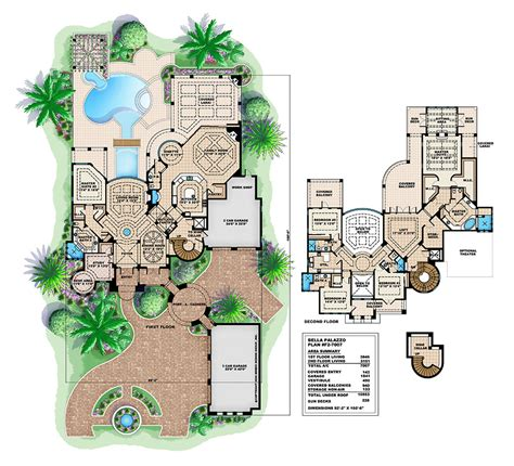 spanish house plans spanish mediterranean style home floor plans