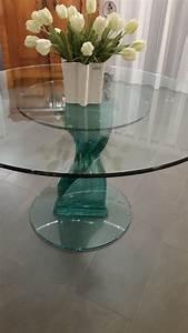 Glasplatte Rund 70 Cm : tischplatten rund 50 60 70 80 cm paul snajdar glasm bel ~ Frokenaadalensverden.com Haus und Dekorationen