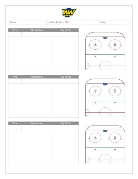 hockey practice plan template coach s manual and practice plan templates whitemud west hockey association