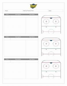 Coach U2019s Manual And Practice Plan Templates  U2013 Whitemud West