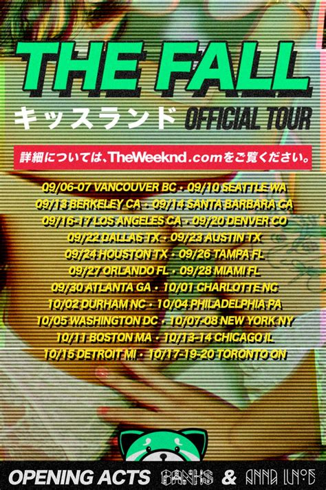 weeknd announces big fall    release