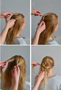 Tresse Facile à Faire Soi Même : coiffure tresse facile a faire ~ Melissatoandfro.com Idées de Décoration