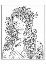 Coloring Pages Complex Animal Printable Adults Getcolorings Colorings sketch template