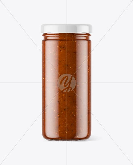 They are packaging items available in different forms, style or type; Clear Glass Jar with Sweet Chili Sauce Mockup in Jar ...