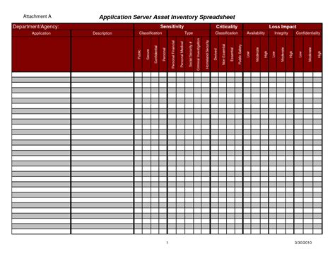 asset tracking spreadsheet db excelcom
