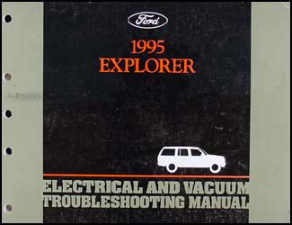 ford explorer electrical  vacuum troubleshooting