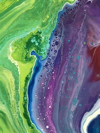 Fluid Acrylics