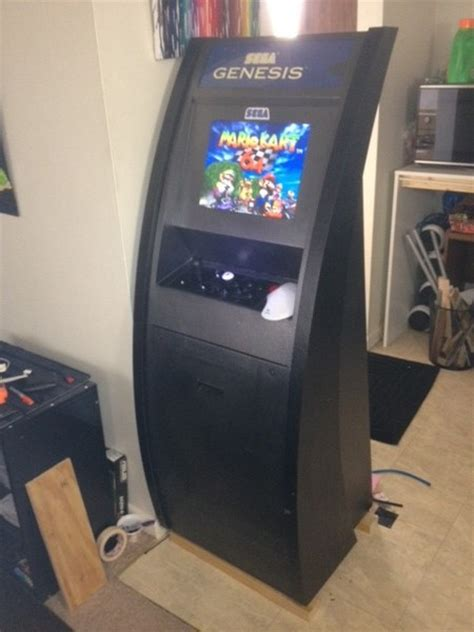 Diy Mame Cabinet Kit by Diy Arcade Cabinet Kits More Cabinet 4