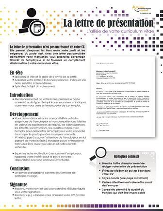 Cv Présentation Exemple by Lettre De Pr 233 Sentation Emploi Exemple Exemplaires Lettre