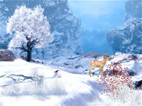arriere plan de bureau animé télécharger winter afternoon wallpaper gratuit