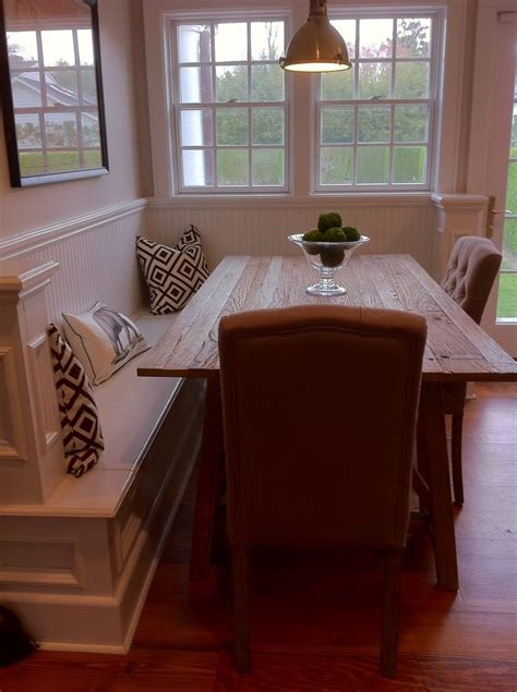 corner kitchen table booth woodworking projects plans