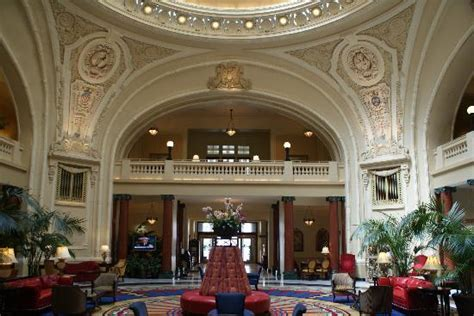 Historic lobby of Battle House Hotel Picture of The