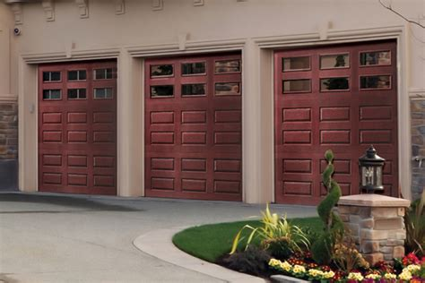 faux wood garage doors   wood   budget price