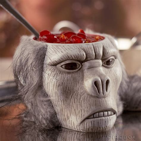 cervelle cuisine chilled monkey brains bowl indiana jones and the temple