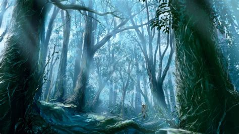 Anime Forest Wallpaper - anime background anime wallpaper forest images 1920x1080