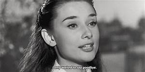 Animated GIFs  ... Audrey Hepburn Rome Quotes