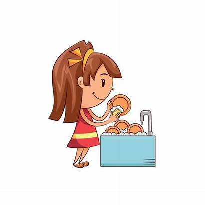 Dishes Washing Clipart Sink Dirty Clip Clipground