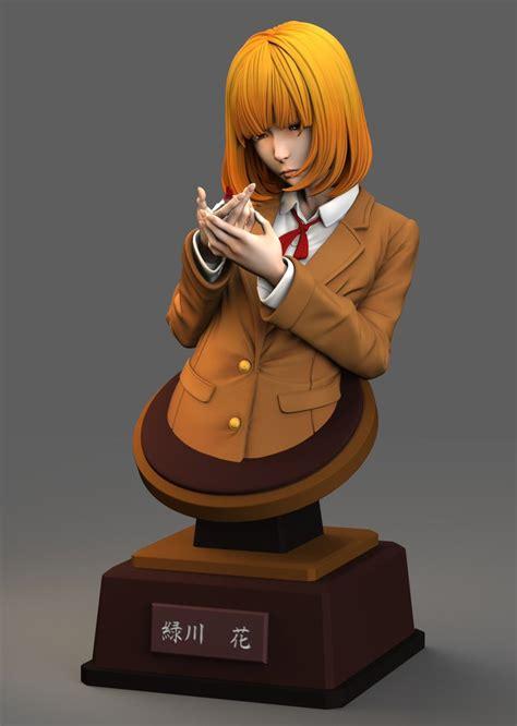 midorikawa hana bust  anime shelf