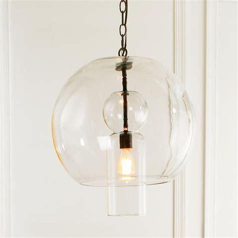 bulb glass sphere pendant pendant lighting by shades