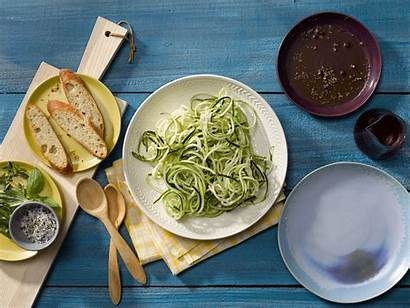 Zucchini Salad Noodle Tomatoes Dishes Mom Side