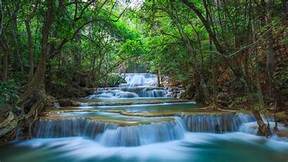 Nature Waterfall Desktop Pc River Tablet Thailand