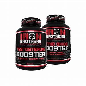 Testosterone Booster  U0026 Nitric Oxide Booster Stack