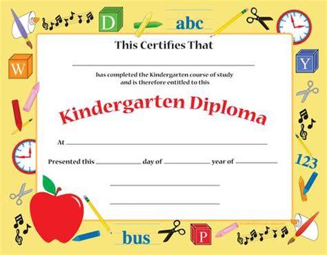 Creative Shapes Etc · Recognition Certificate  Kindergarten Diploma