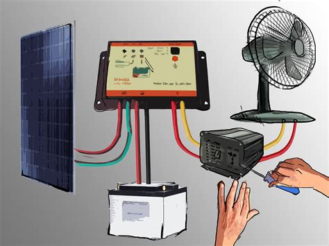 How Set Small Solar Photovoltaic Power Generator