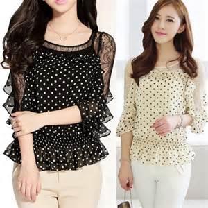 casual summer dresses moda blusas blusas moda europea 5