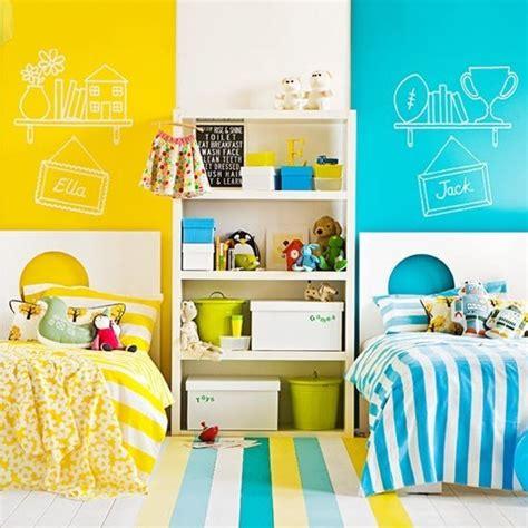 chambre mixte enfant idee deco chambre enfant mixte