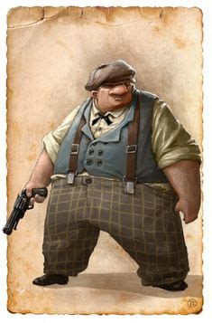 fat character