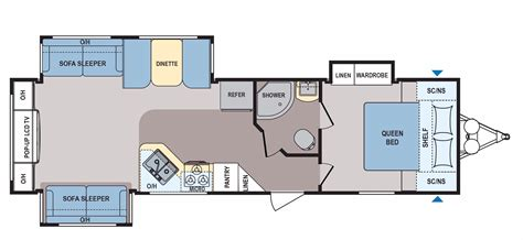 Coleman Travel Trailers Floor Plans by 2017 Coleman Coleman Light 3025re Cing World Of New