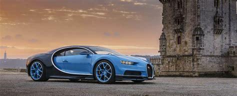 Lisboa Capital Mundial Do Bugatti Chiron