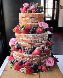 Katy Made Cakes Wedding Cakes North London Naked Cakes