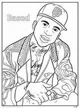 Coloring Hop Hip Pages Homies Eminem Rap Dance Adult 2pac Dre Printable Dr Getcolorings Kanye West Books Bun Little Sheets sketch template