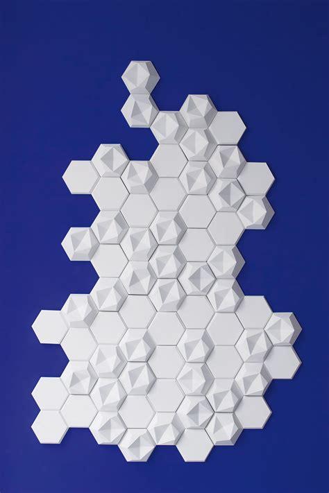 edgy hexagonal concrete tiles building decorative
