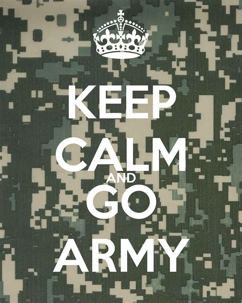 Keep Calm And Go Army Poster  Jessica  Keep Calmomatic