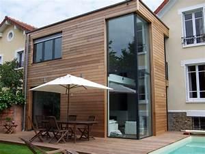 bardage de facade quels materiaux choisir travauxcom With amenagement exterieur terrasse maison 10 avant apras une nouvelle veranda pour rajeunir la maison