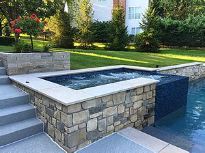 baker pool construction  st louis custom hot tubs spas