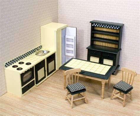 dollhouse furniture kitchen melissa doug victorian doll house furniture