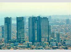 Paysage Urbain De Côté Européen D'Istanbul Et De Détroit